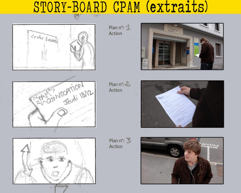 post-production-comparatif-storyboard-tournage film court metrage production audiovisuelle savoie aix-les-bains chambery annecy photographie