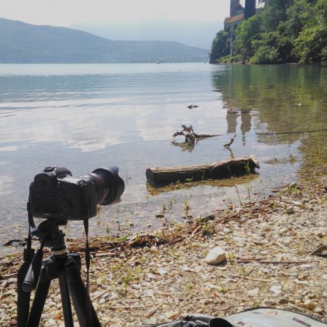 work in progress, photographie de la couverture du magazine Autour du Lac, reportage photo, création d'image,