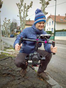 tournage vidéo immobilier stabilisation guimbal ronin m chercheur d'images aix-les-bains fabien guichardan