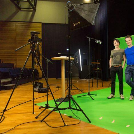 fond vert audiovisuel effets spéciaux trucage atelier de réalisation audiovisuel aix-les-bains compositing trucage numérique,